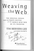 Tim Berners Lee signature